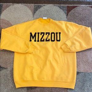 Champion brand Mizzou crewneck
